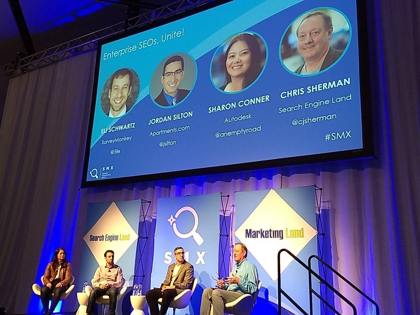 Enterprise SEOs Unite - Panel at SMX West 2019
